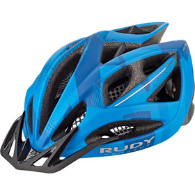 Rudy Project Airstorm MTB Kask rowerowy, blue/titanium camo